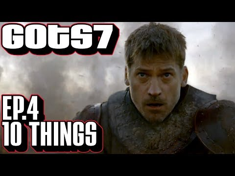 [Game of Thrones] S7 E4 10 Things You Might Have Missed | Callbacks & Details The Spoils of War