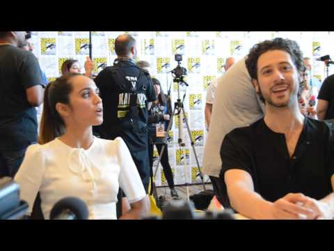 THE MAGICIANS at SDCC 2017  Summer Bishil and Hale Appleman