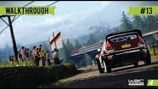 WRC 4 Career Mode - WRC 2 - Part 13 Rally Italy (Day1)