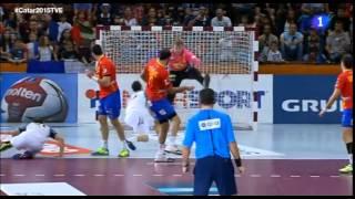 España-Francia - Mundial Balonmano 2015 - Semifinales