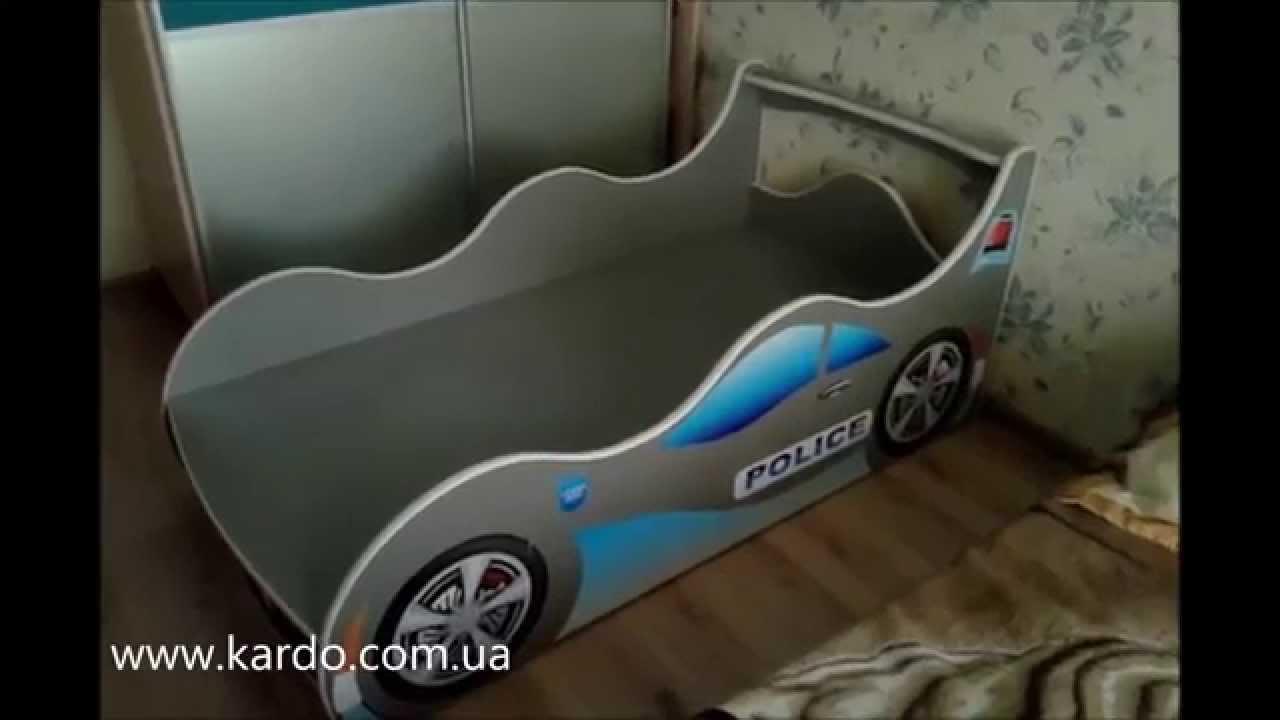 Детские кровати в виде машин своими руками 149