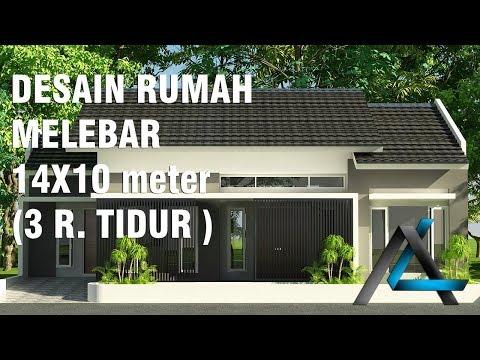 DESAIN RUMAH 16 X 9 M DI LAHAN MIRING RUMAH Bpk AHMAHANGGI