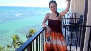 ハワイ★ハレクラニ ホテルのスイートルーム(Hawaii/Halekulani Hotel room)