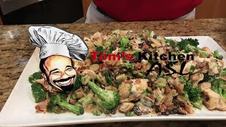 Almond Broccoli Chicken Salad