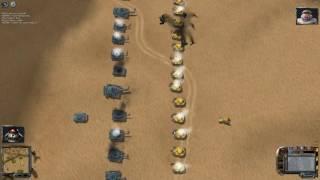 SWINE RUS fun game tank battle - desert