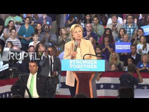 USA: 'Friends don't let friends vote for Donald Trump' – Clinton