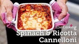 Spinach & Ricotta Cannelloni with Giuseppe Crupi