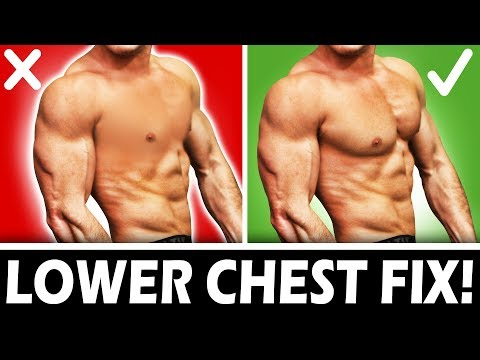 EXPLOSIVE LOWER CHEST GROWTH! | STOP DOING DECLINE BENCH PRESS!