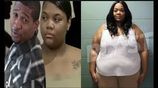 Usher's lying herpes accuser Quantasia Sharpton gets A FREE Gastric operation to lose weight