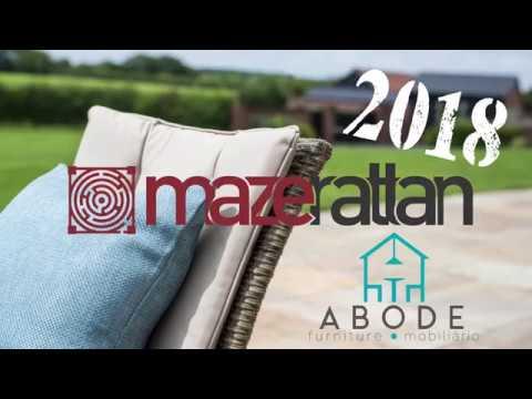 Mazerattan 2018 ranges by Abode furniture Portugal & Spain