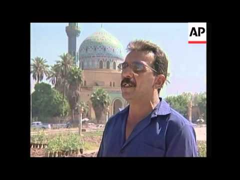 Life in Baghdad improving, six months since fall of Saddam