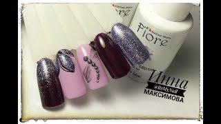 🌸 ПРОСТОЙ и БЫСТРЫЙ весенний дизайн ногтей 🌸 FIORE 🌸 СТРЕКОЗА на ногтях 🌸 ЦВЕТЫ на ногтях 🌸