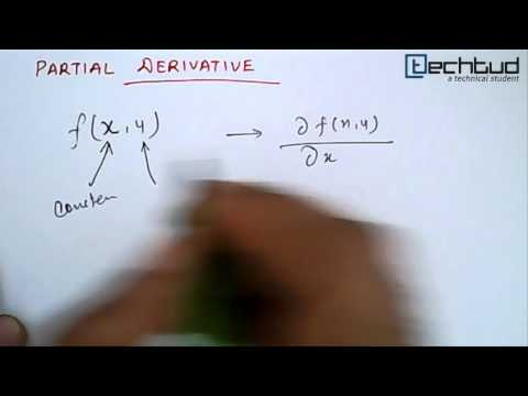 Mathematics: Partial Derivative