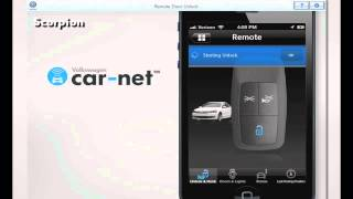 Volkswagen Car Net™ — Remote Door Unlock