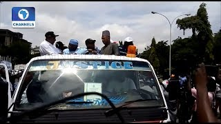 Saraki, Dogara, Secondus, Lead Protest Against Osun Election Outcome