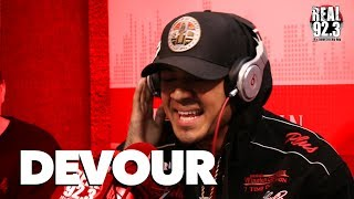 Devour Murders Freestyle Over Dr. Dre Beat with Bootleg Kev & DJ Hed