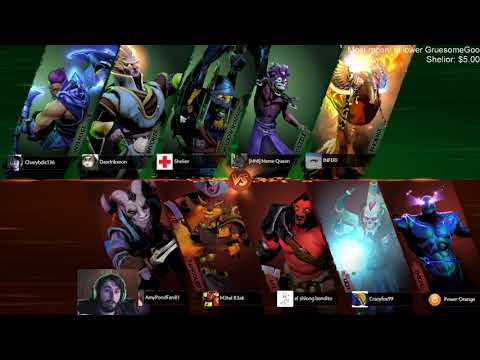 Dota 2 gameplay with commentary for a variety of different players (Part 116)