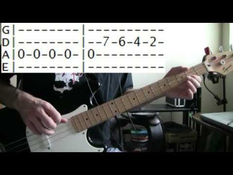 bass guitar lessons online Ozzy osbourne crazy train tab