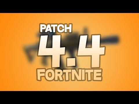 Patch 4.4 De Fortnite, L'arme La Plus Cheaté ( Nouvelle Arme + Retour Du Tireur D'élite ) 11/06