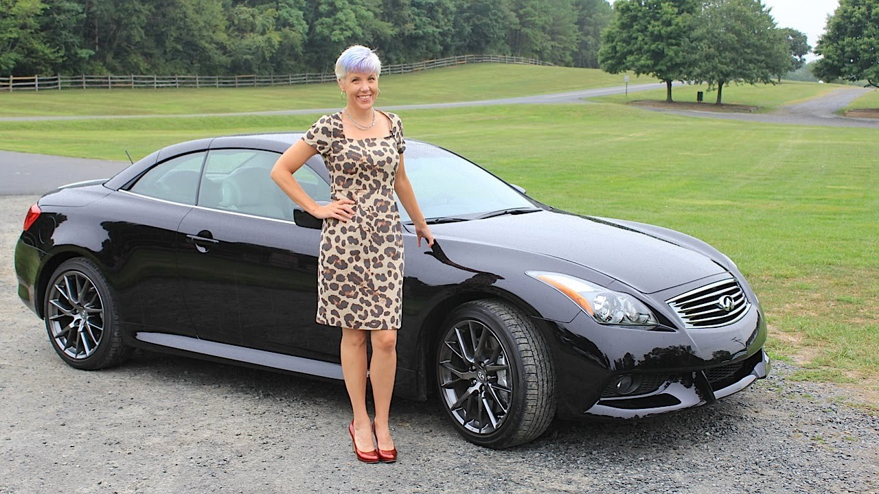 Infiniti Ipl G37 Convertible Test Drive Car Review With Emme Hall By Roadflytv