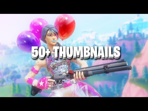 50+ Free Fortnite Thumbnails 😴 (SFM & Motion Blur) (Fortnite Gfx Pack)