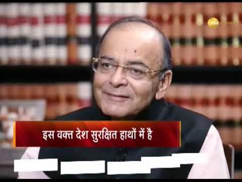 Exclusive: Sudhir Chaudhary interviews FM Arun Jaitley