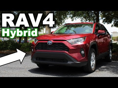 The BEST Hybrid SUV? 2019 Toyota RAV4 XLE Hybrid Review