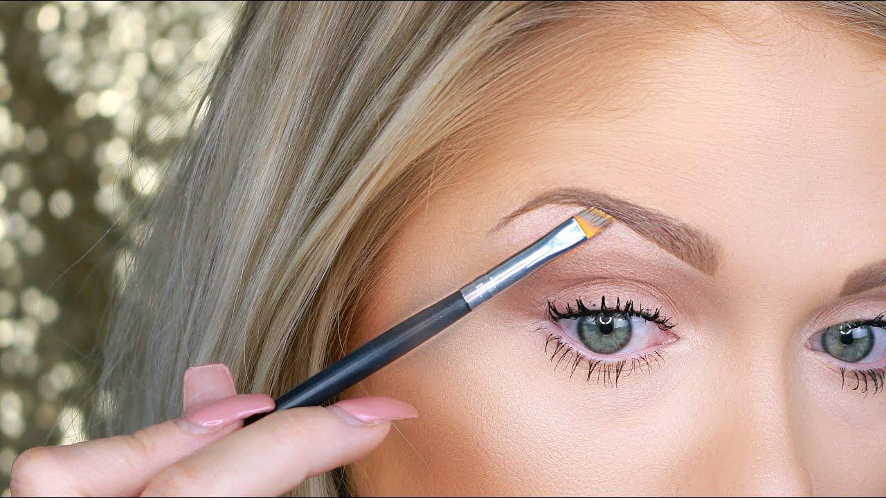 Eyebrow Tutorial For Beginners - YouTube