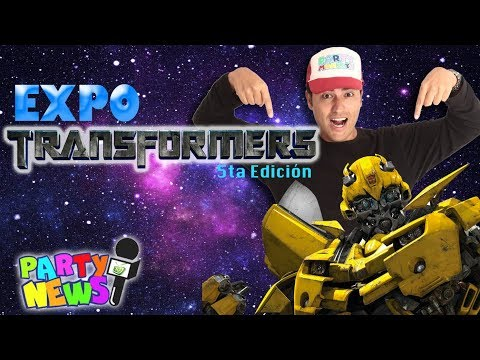 PARTY NEWS: Expo Transformers 5ta Edición  Quito-Ecuador