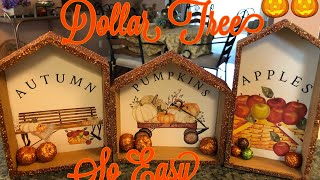 Three Fall Dollar Tree Diy Pictures 2019