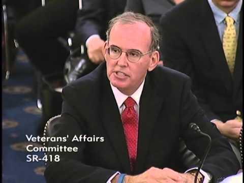 Sen. Dan Sullivan (R-AK) at a Senate Veterans