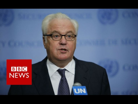 Vitaly Churkin: Russian Ambassador to the UN dies aged 64 - BBC News