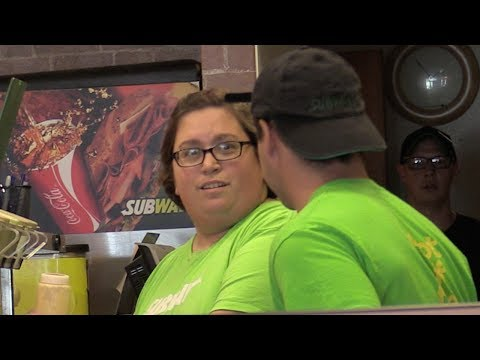 Fake Subway Employee Prank! (MAKING A SUB)