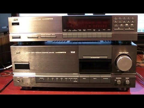 JVC AX Z1010 and jvc FX-1010 top of the line review