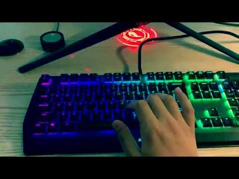 2019全新外星人aw510k矮红轴机械键盘