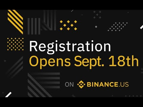 Binance.us Is Opening On Sept 18th! First List Of Coins Revealed!