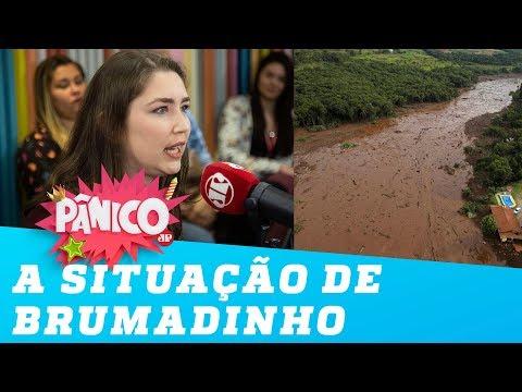 Deputada estadual Laura Serrano (Novo-MG) fala sobre a situação de Brumadinho