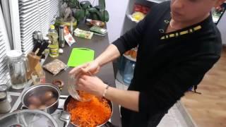 Готовим суп харчо постный