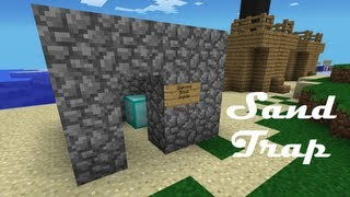 How to Make a Sand Trap in Minecraft Pocket Edition