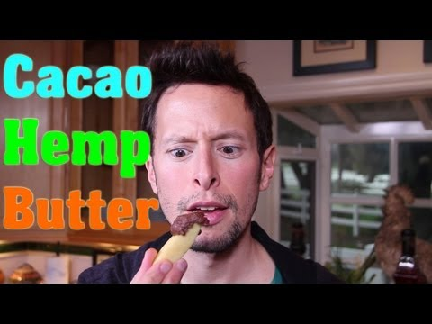 Cacao Hemp Seed Butter: Raw Vegan Superfood Recipe
