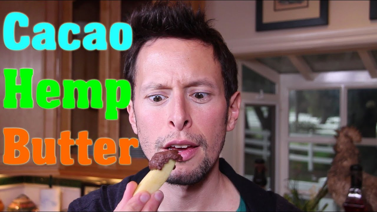 Cacao hemp seed butter raw vegan superfood recipe youtube forumfinder Image collections