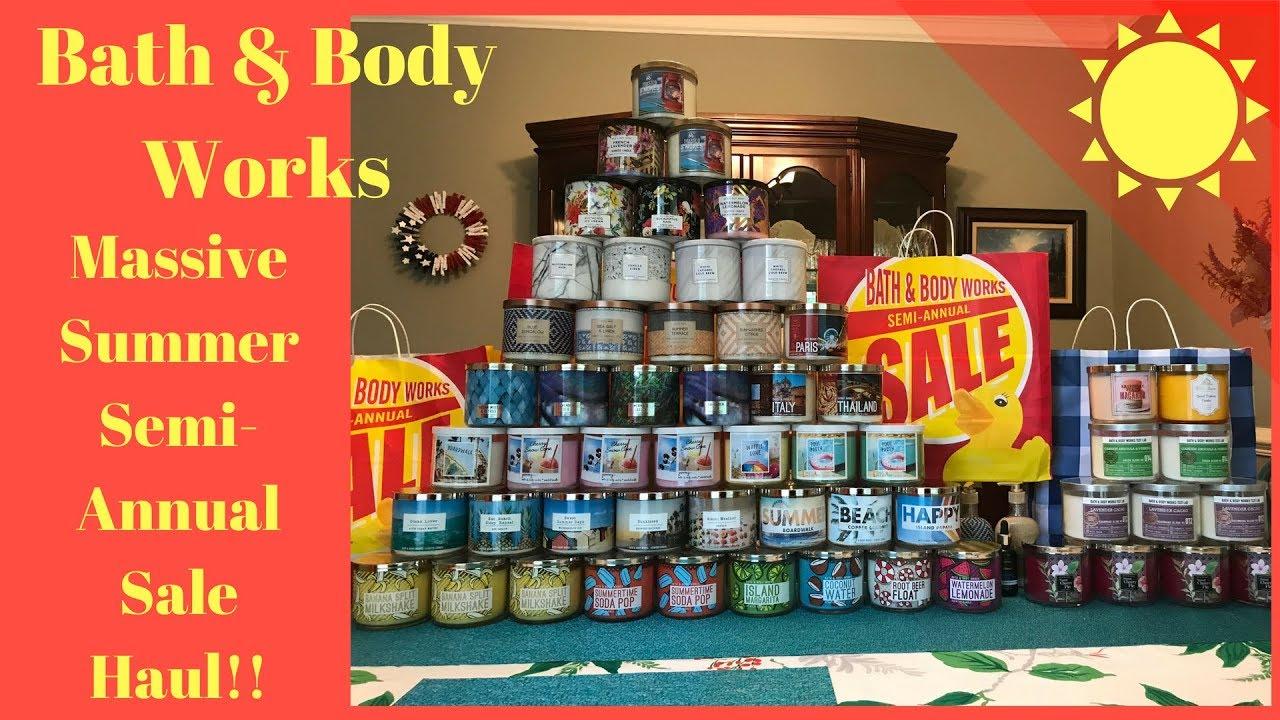 semi annual sale bath and body works june 2020