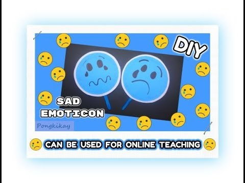 Episode  5 - DIY Sad Emoticon (Ideas on how to apply links provided in the video)