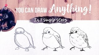 You Can Draw Anything In 3 Simple Steps // Skillshare Class Trailer (FREE Link!)