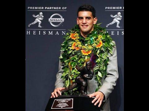 Marcus Mariota - 2014 Heisman Trophy Presentation