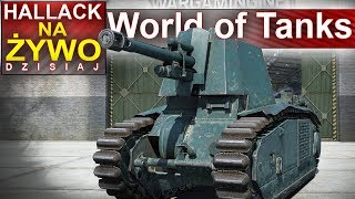 Dzisiaj w World of Tanks plutony IV tier :) - Na żywo