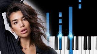 Baixar Calvin Harris & Dua Lipa - One Kiss - EASY Piano Tutorial