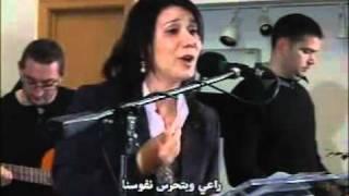 تختفي الأحزان في قربك ترنيمة عربية للأخت فادبة بزيik