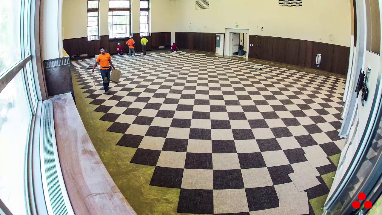 Carpet Tile Installation Crocker Science Center University Of Utah
