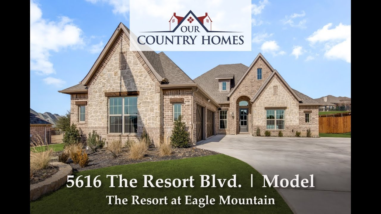 5616 the resort blvd. | model | the resort at eagle mountain - youtube
